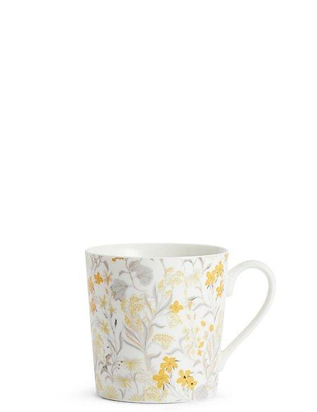 Trailing Floral Mug