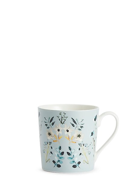 Decorative Floral Mug