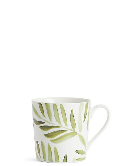 Watercolour Leaves Mug
