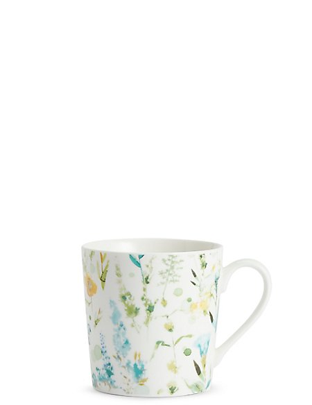 Daisy Watercolour Floral Mug