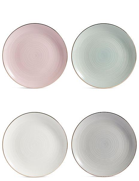 Isla Set of 4 Cake Plates