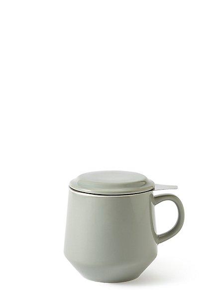 Ceramic Tea Strainer Mug