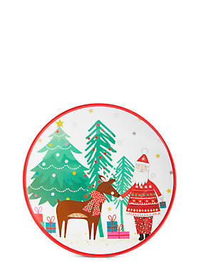 Christmas Melamine Plate