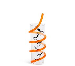 Halloween Cup with Straw