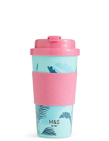 Leaf Print Travel Mug