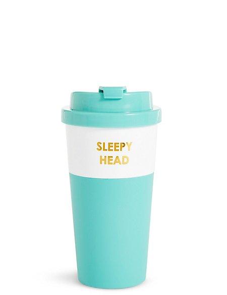 Sleepy Head Travel Mug