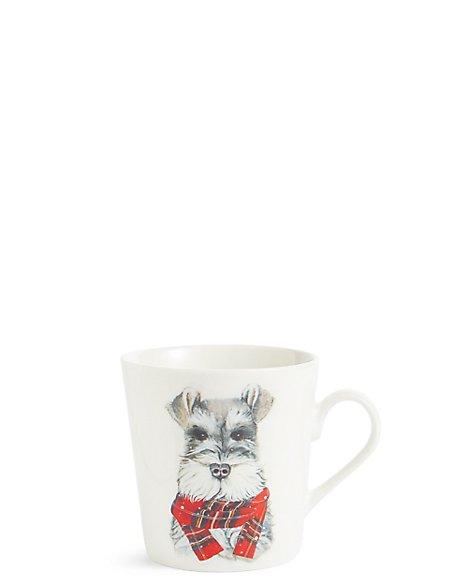 Festive Dog Mug
