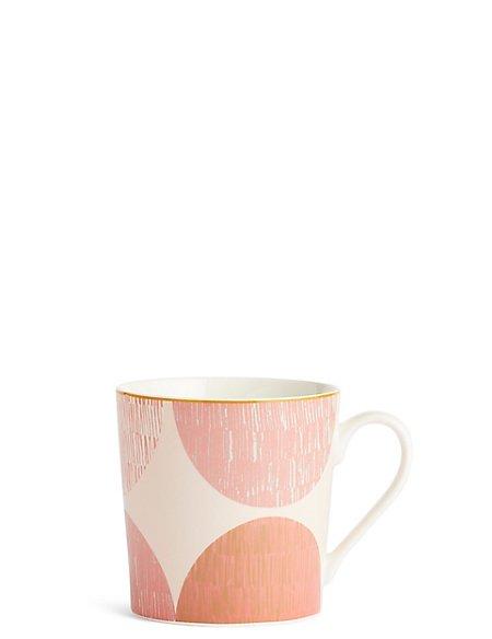 Sunbaked Etched Circle Mug