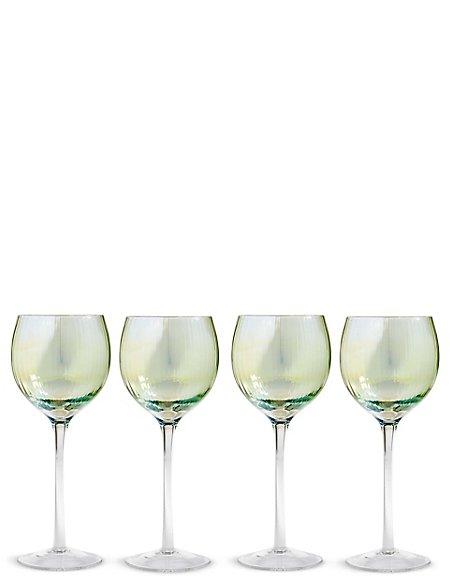 Set of 4 Pack Ophelia Wine Glasses