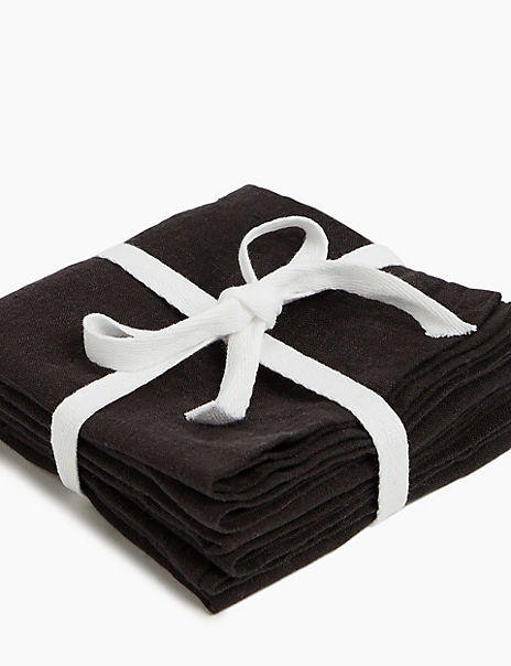 Set of 2 Linen Napkins