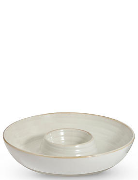 Retreat Chip & Dip Bowl