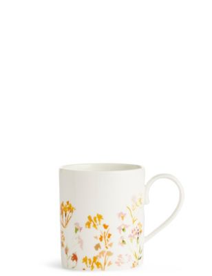 Painterly Floral Mug