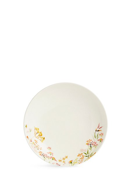 Painterly Floral Pasta Bowl