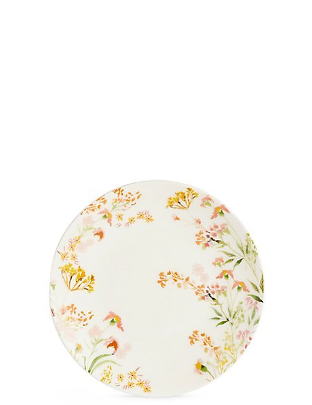 Painterly Floral Side Plate