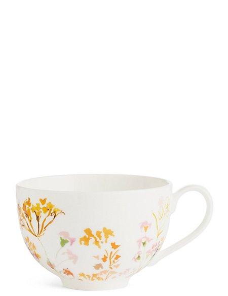 Painterly Floral Cappuccino Mug