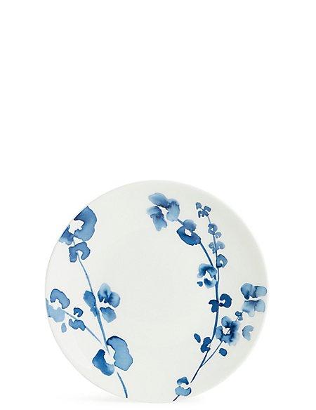 Indigo Floral Side Plate