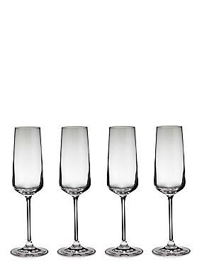 Nova 4 Pack Champagne Glasses