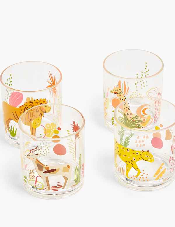 Marks & Spencer daisy hi ball glass