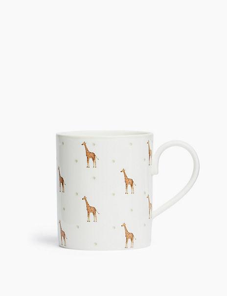 Fine China Giraffe Mug