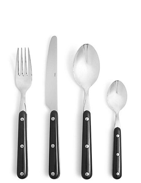 16 Piece Bistro Cutlery Set