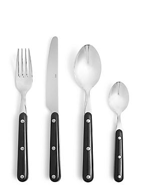 Bistro 16 Piece Cutlery Set