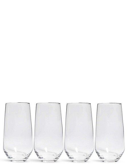 Maxim 4 Pack Hi Ball Glasses