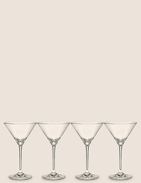 Set of 4 Maxim Martini Glasses