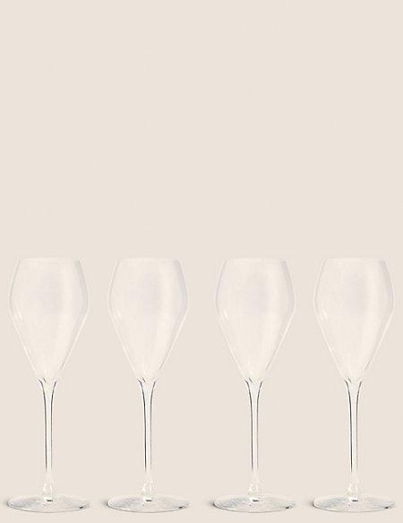 4 Maxim Prosecco Glasses