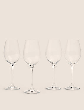 4 Maxim White Wine Glasses