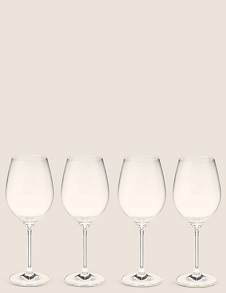 Set of 4 Maxim Red Wine Glasses