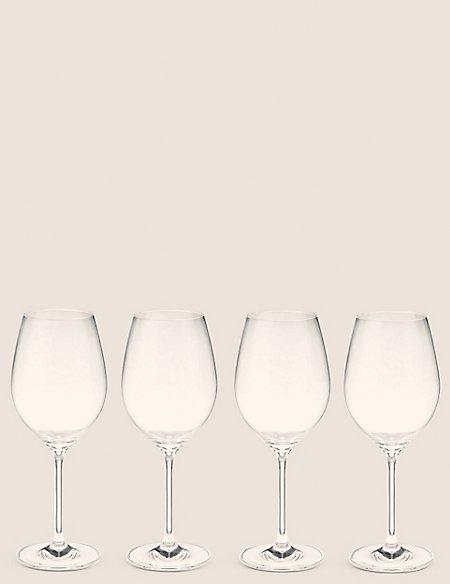 4 Maxim Red Wine Glasses