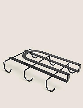 Wire Under Shelf Cup Rack