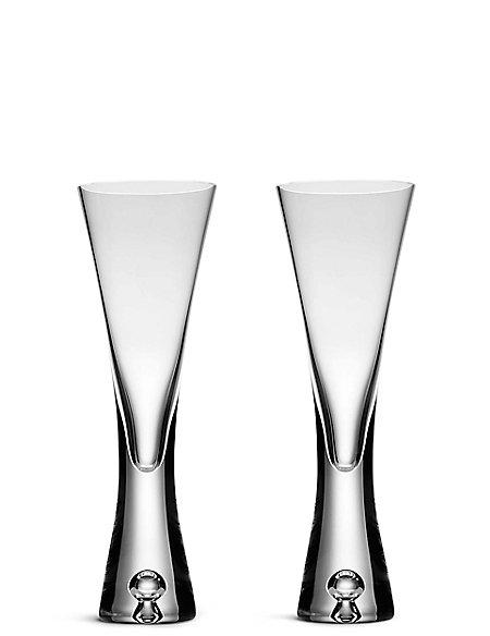 2 Pack Soho Flute Glasses
