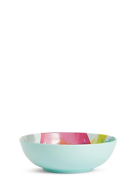 Brushstrokes Melamine Bowl