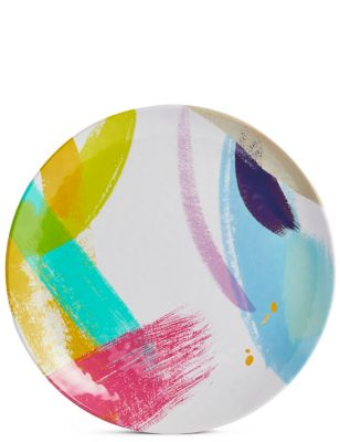 Brushstrokes Dinner Plate