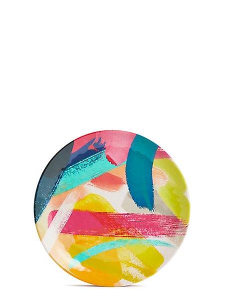 Brushstrokes Melamine Side Plate