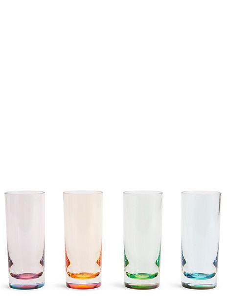 Set of 4 Colourful Hi Balls