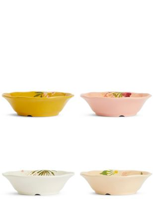 Set of 4 Sun-baked Cereal Bowls