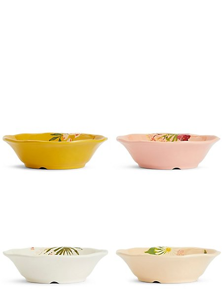Sun-baked Set of 4 Cereal Bowls