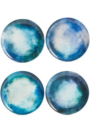 Set of 4 Reactive Side Plates