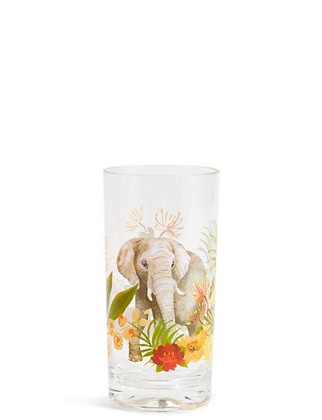 Sun-baked Elephant Hi Ball Glass