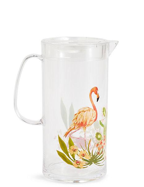 Sun-baked Flamingo Jug