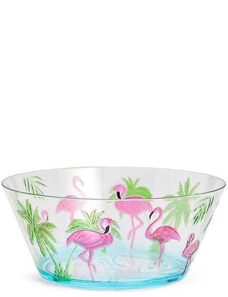 Flamingo Salad Bowl