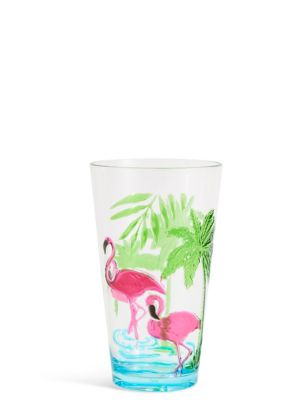 Flamingo Hi Ball Glass