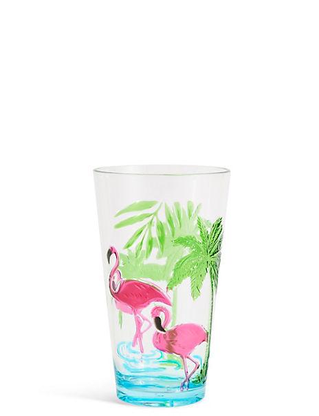 Flamingo Hi Ball Glass