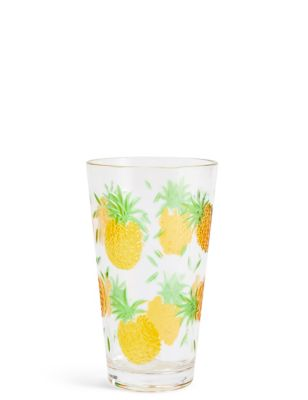 Pineapple Hi Ball Glass