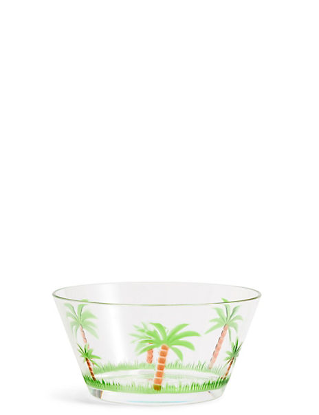 Palm Tree Small Bowl