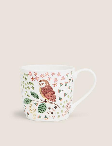Owl Woodland Mug