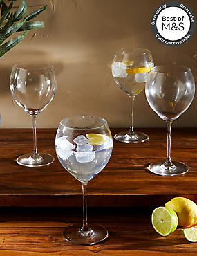 Set of 4 Gin Glasses