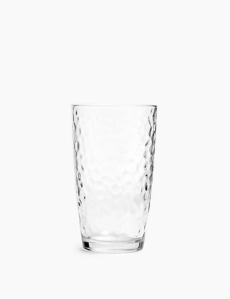 Set of 8 Glasses Hi Ball//Highball Glass Modern Kitchen Dining Glassware Set New